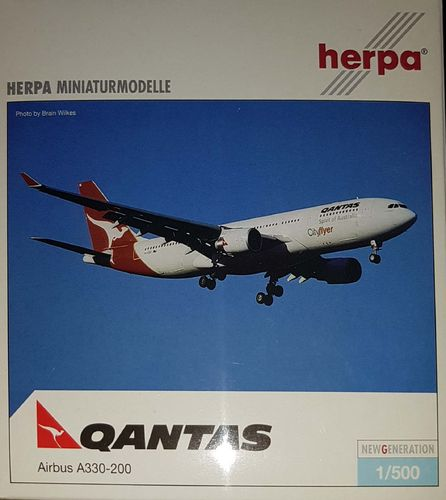 Herpa Wings Qantas Airways A330-201 1:500 - 508568