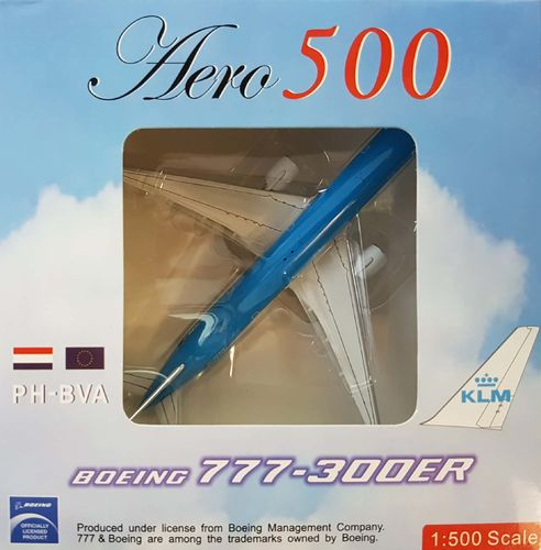 Aeroclassics KLM Royal Dutch Airlines B 777-306ER 1:500 - A5PHBVA