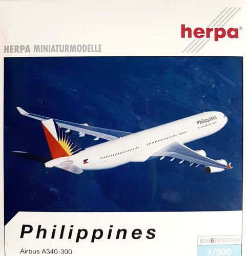 Herpa Wings Philippines - Philippine Airlines A340-313X 1:500 - 513159
