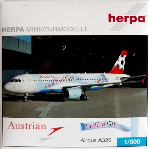 Herpa Wings Austrian Airlines A320-214 1:500 - 507936