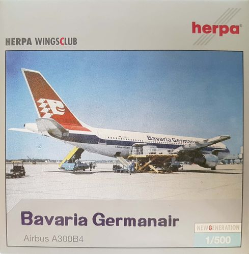 Herpa Wings Bavaria Germanair A300B4-103 1:500 - 512695