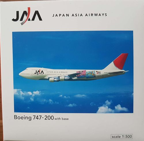 Herpa Wings Japan Asia Airways B 747-246B 1:500 - JE2014