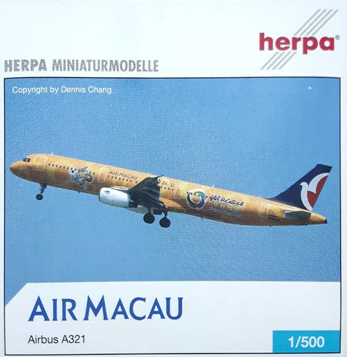Herpa Wings Air Macau A321-231 1:500 - 508865