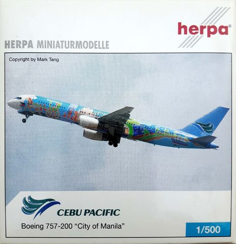 Herpa Wings Cebu Pacific B 757-236ER 1:500 - 514811
