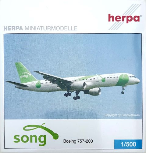 Herpa Wings Song B 757-232 1:500 - 507073