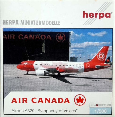 Herpa Wings Air Canada A320-211 1:500 - 502146