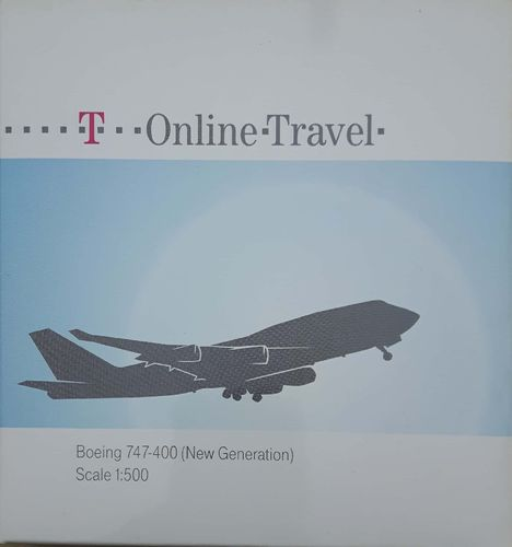 Herpa Wings Fantasy T-Online Travel B 747-400 1:500 - 513265
