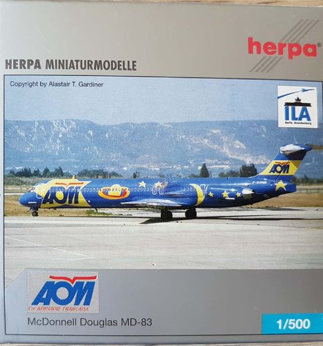 Herpa Wings AOM French Airlines MD-83 1:500 - 507677