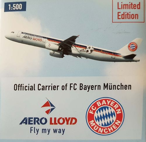 Herpa Wings Aero Lloyd A321-231 1:500 - 508780