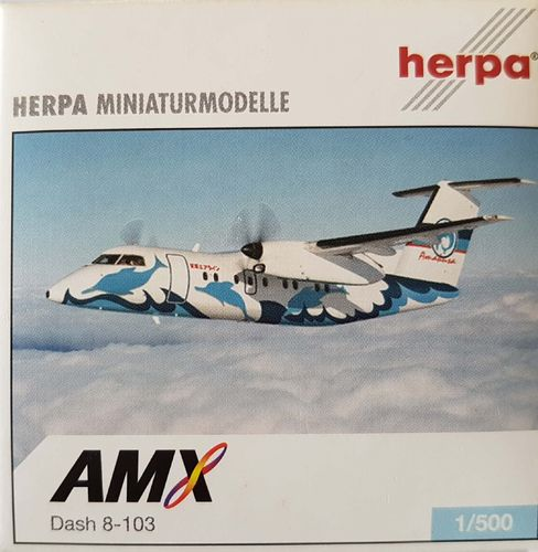 Herpa Wings Amakusa Airlines DHC-8-103-8Q 1:500 - 510066
