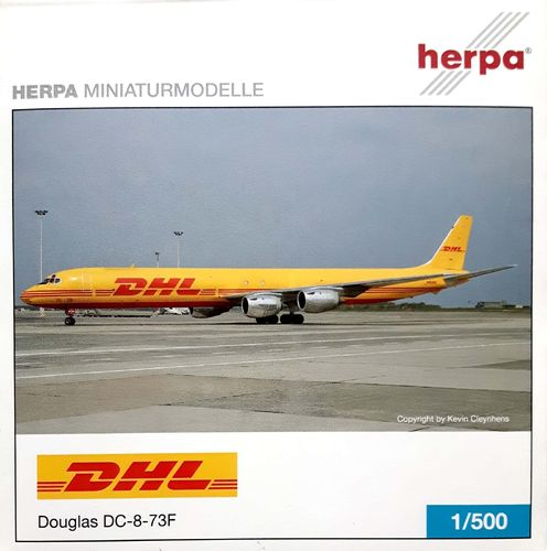 Herpa Wings DHL DC-8-73F 1:500 - 509510