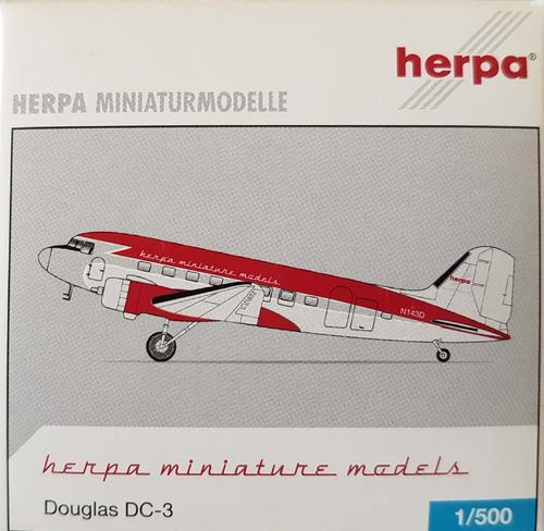 Herpa Wings Academy Airlines DC-3-277A 1:500 - 513470