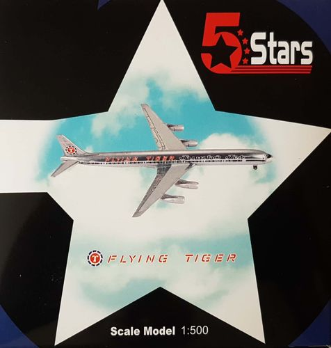 5 Stars Flying Tigers DC-8-61F 1:500 - FSFT101A