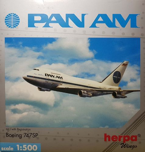 Herpa Wings Pan American World Airways B 747SP-21 1:500 - 512244