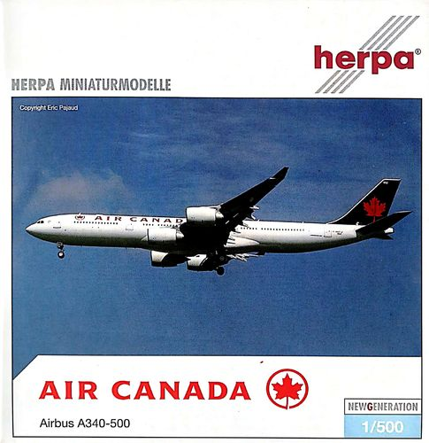 Herpa Wings Air Canada A340-541 1:500 - 507462