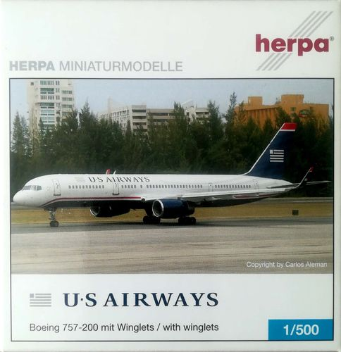 Herpa Wings US Airways B 757-2B7 1:500 - 503228