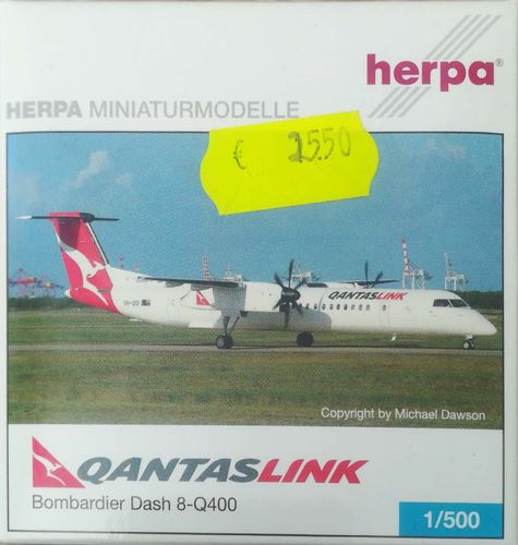 Herpa Wings QantasLink / Sunstate Airlines DHC-8-402Q400 1:500 - 509558