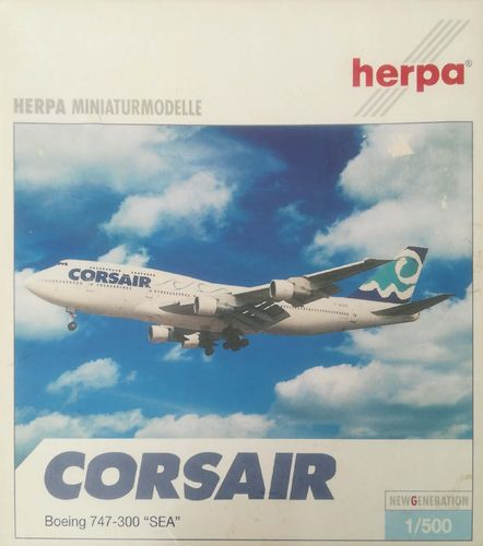 Herpa Wings Corsair B 747-312 1:500 - 505970 SEA