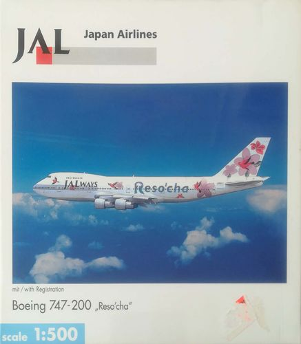 Herpa Wings JALways B 747-246B 1:500 - 512503
