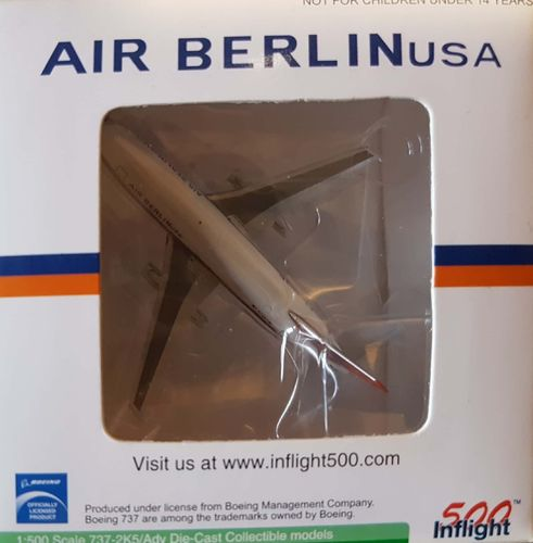 Inflight500 Air Berlin USA B 737-2K5A 1:500 - IF5732005