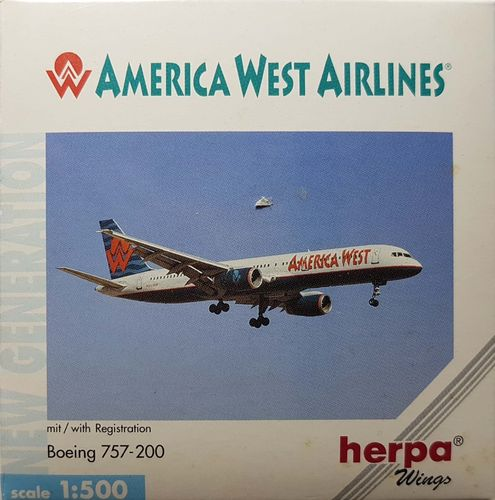 Herpa Wings America West Airlines B 757-2G7 1:500 - 503877