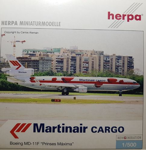 "Herpa Wings Martinair Holland MD-11F - ""Prinses Maxima"" - 1:500 - 510769"
