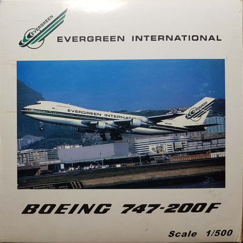 C&C Evergreen International B 747-212BSF 1:500 -  N482EV