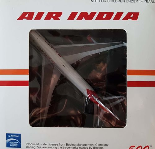Inflight500 Air India B 747-4H6 1:500 VT-AIS - IF5744006