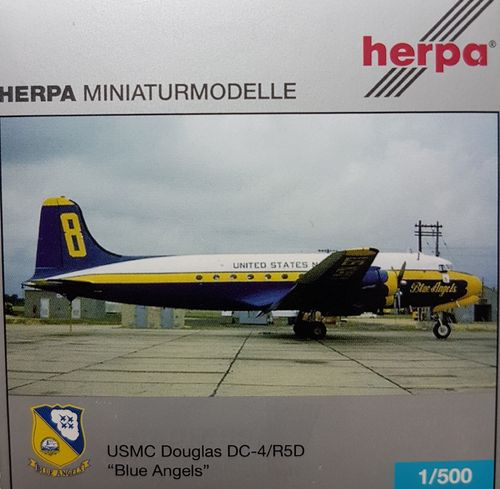 Herpa Wings United States Navy C-54Q 1:500 - 502092