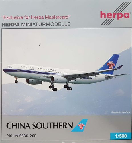 Herpa Wings China Southern Airlines A330-243 1:500 - 514583
