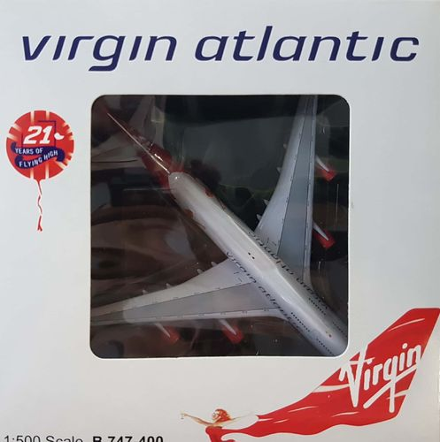 BigBird Virgin Atlantic Airways B 747-4Q8 1:500 - BB5-2005-28