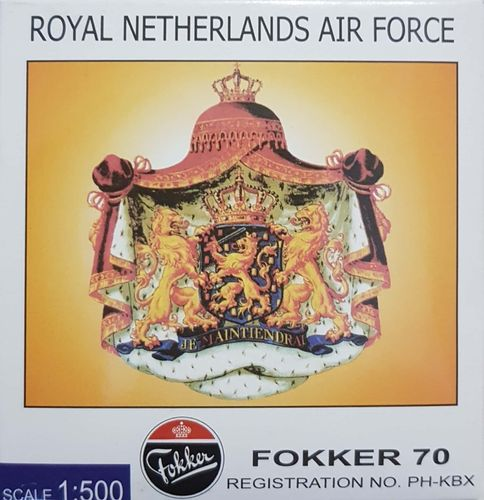 Hogan Royal Netherlands Air Force F-28-0070 1:500 - NA50001