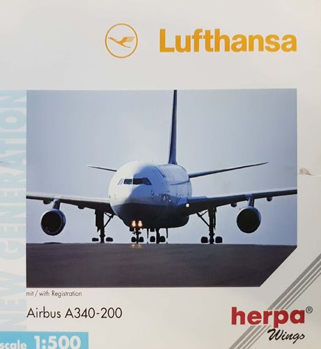 Herpa Wings Lufthansa A340-211 1:500 - 516518