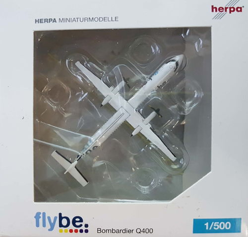Herpa Wings FlyBe DHC-8-402Q400 1:500 - 517881 G-ECOT