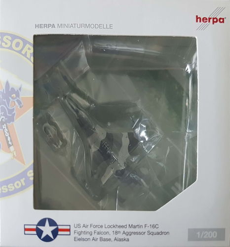 Herpa Wings United States Air Force F-16C Fighting Falcon 1:200 - 553292