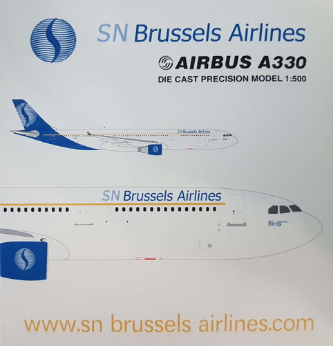 StarJets SN Brussels Airlines A330-301 1:500 - SJSAB166A - Limitierte Auflage 600 Stk