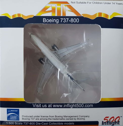 Inflight500 ATA American Trans Air B 737-83NWL 1:500 - IF5738005