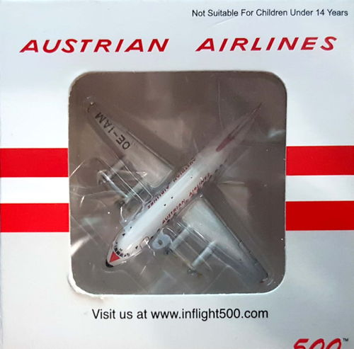Inflight500 Austrian Airlines Viscount 837 1:500 - IF5801002