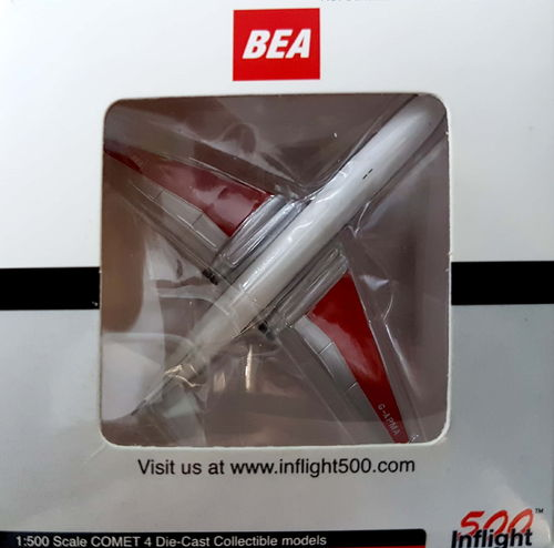 Inflight500 BEA DH.106 Comet 4B 1:500 - IF5COM001
