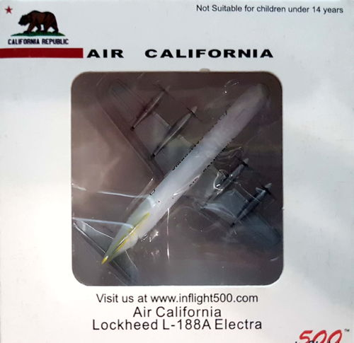 Inflight500 Air California L-188A Electra 1:500 - IF5188002