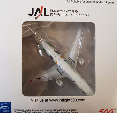 Inflight500 JAL Japan Airlines B 767-346 1:500 - IF5763017 - JA8364