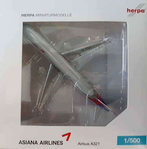 Herpa Wings Asiana Airlines A321-231 1:500 - 523097
