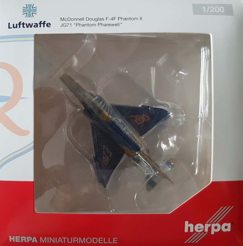 Herpa Wings Luftwaffe F-4F Phantom II 1:200 - 556033