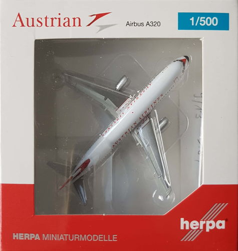 Herpa Wings Austrian Airlines A320-214 1:500 - 524247